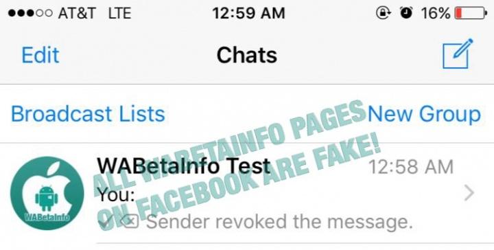 Imagen - WhasApp pronto nos dejará deshacer el envío de mensajes