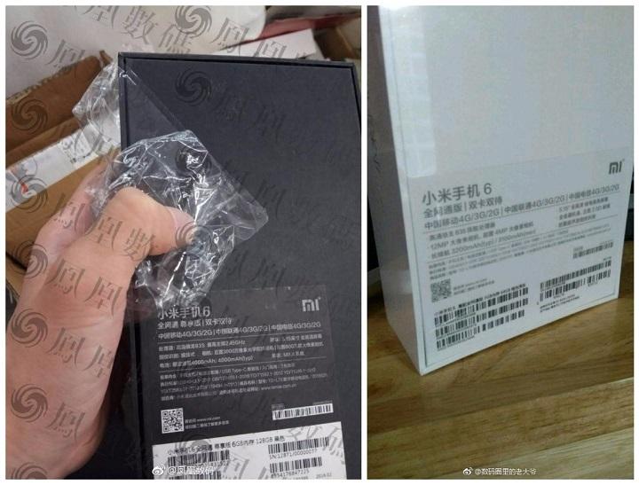 Imagen - Filtrada la caja del Xiaomi Mi6 con las características técnicas