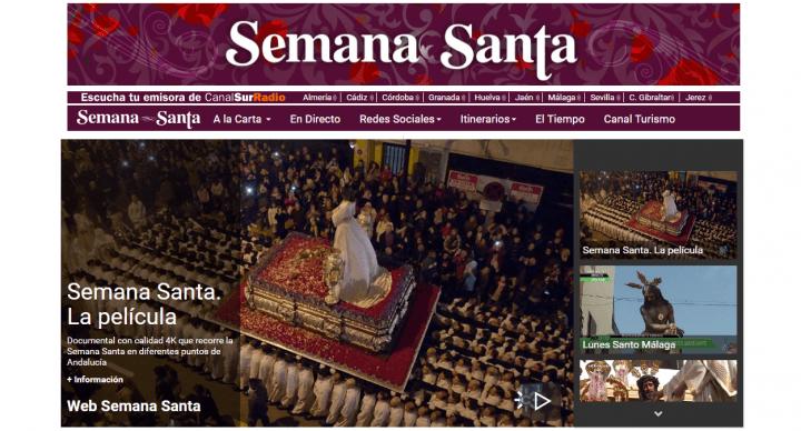 Imagen - Cómo ver online las procesiones de Semana Santa