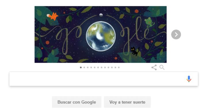 Google nos anima a proteger el planeta con el Doodle del Día de la Tierra