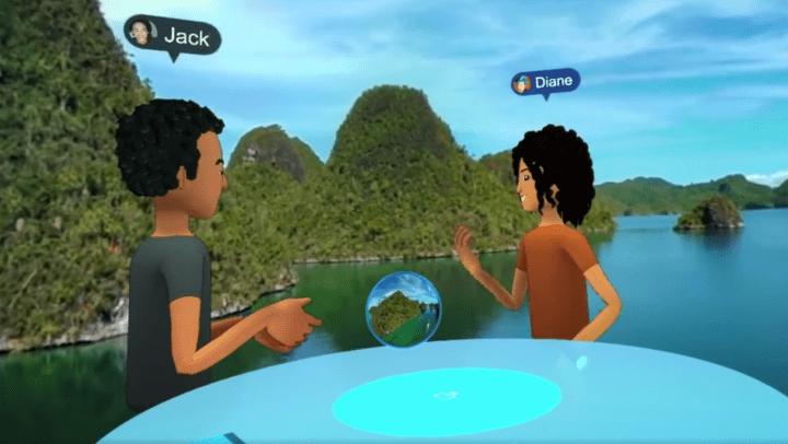 Facebook Spaces, un espacio para compartir la realidad virtual con amigos