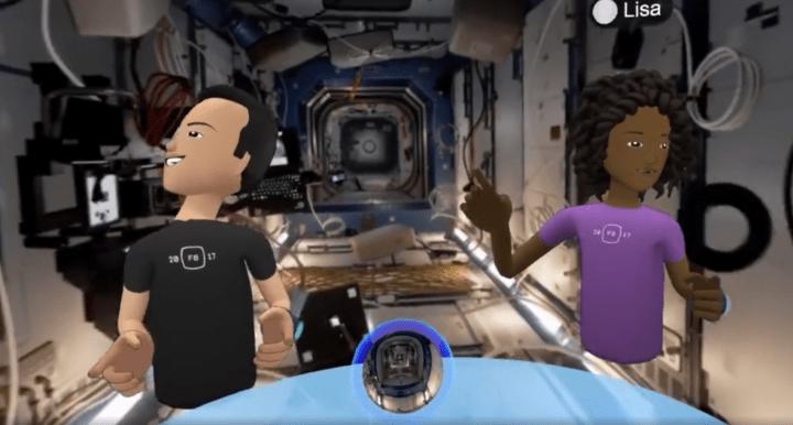 Imagen - Facebook Spaces, un espacio para compartir la realidad virtual con amigos