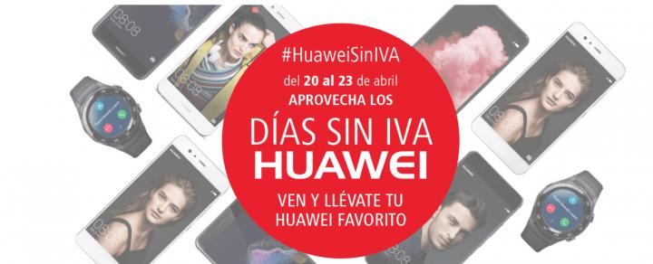 Imagen - Huawei celebra la semana sin IVA del 20 al 23 de abril