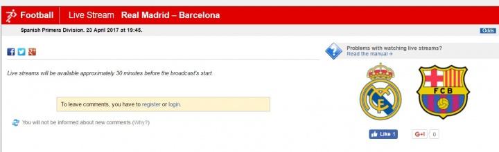 Imagen - Cómo ver el clásico Real Madrid vs Barcelona por Internet
