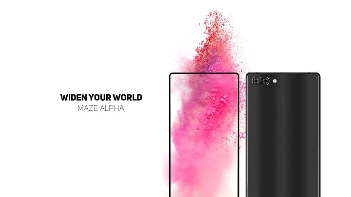 Imagen - Maze Alpha, otro smartphone sin marcos