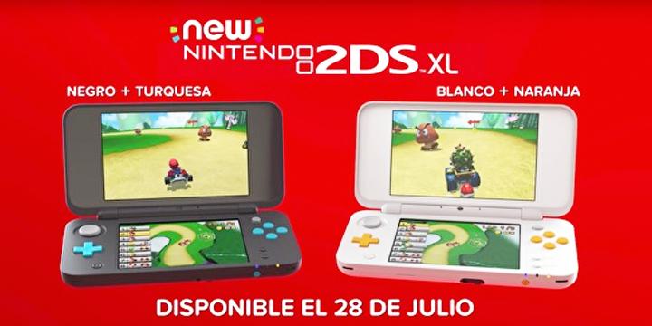 Imagen - New Nintendo 2DS XL, una versión más económica de la portátil sin efecto 3D