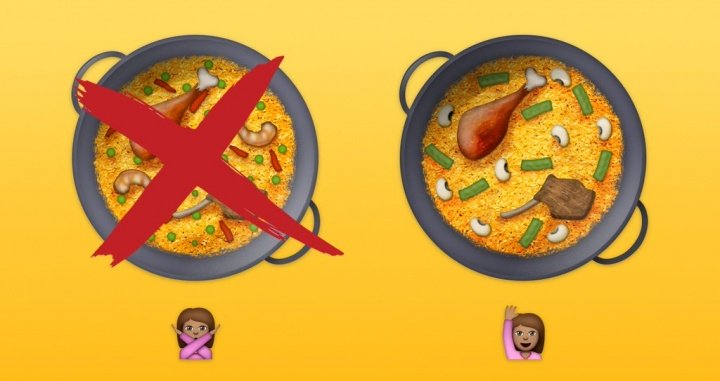 Imagen - iOS 10.3 actualiza el emoji de la paella valenciana