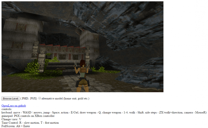 Imagen - Juega gratis al Tomb Raider original en el navegador