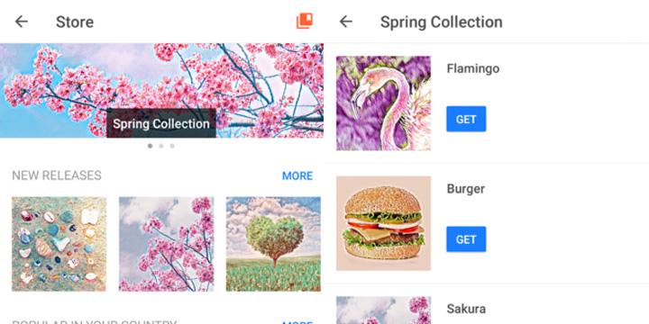 Imagen - Prisma añade una tienda de filtros