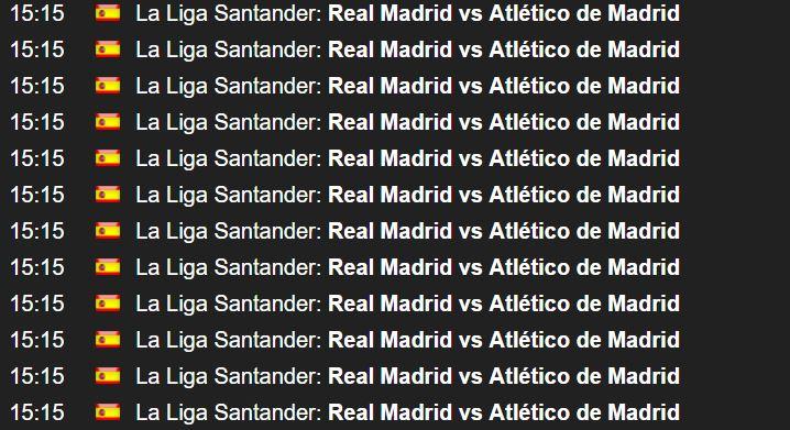 Imagen - Cómo ver el derbi Real Madrid vs Atlético de Madrid online