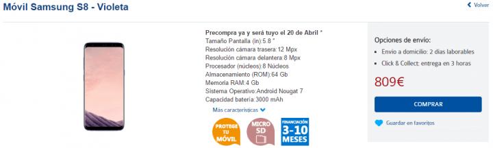 Imagen - Dónde comprar el Samsung Galaxy S8