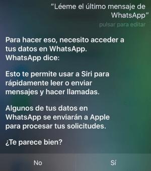 Imagen - WhatsApp 2.17.20 para iOS hace que Siri te lea los mensajes