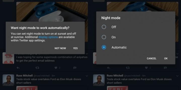 Imagen - Twitter tendrá modo nocturno automático