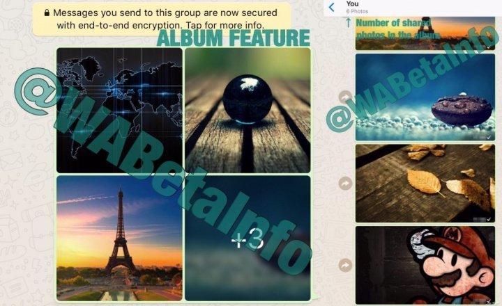 Imagen - WhatsApp permitirá compartir un álbum de fotos