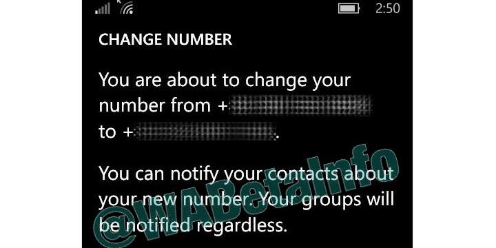 Imagen - Así funcionará la alerta de cambio de número de WhatsApp