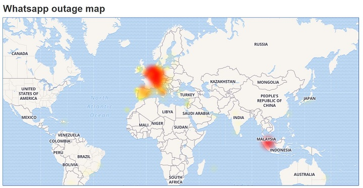 Imagen - WhatsApp está sufriendo problemas de funcionamiento