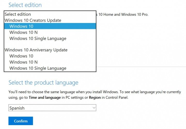 Imagen - Windows 10 Creators Update ya disponible como ISO o actualización
