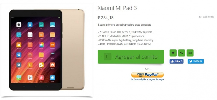 Imagen - Dónde comprar la Xiaomi Mi Pad 3