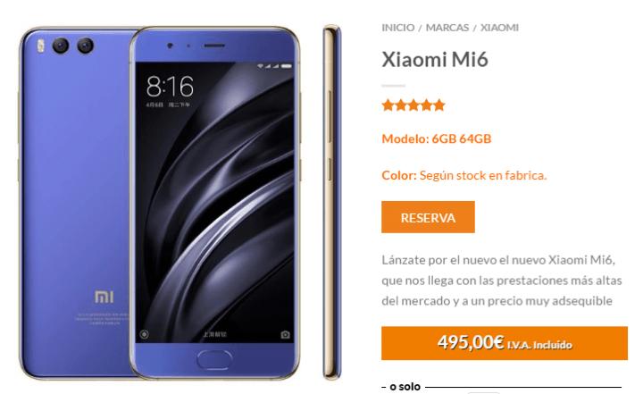 Imagen - Dónde comprar el Xiaomi Mi6
