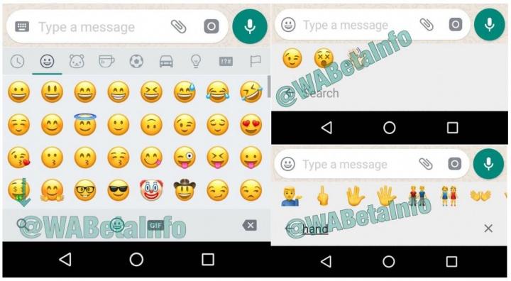 Imagen - WhatsApp te permitirá buscar emojis