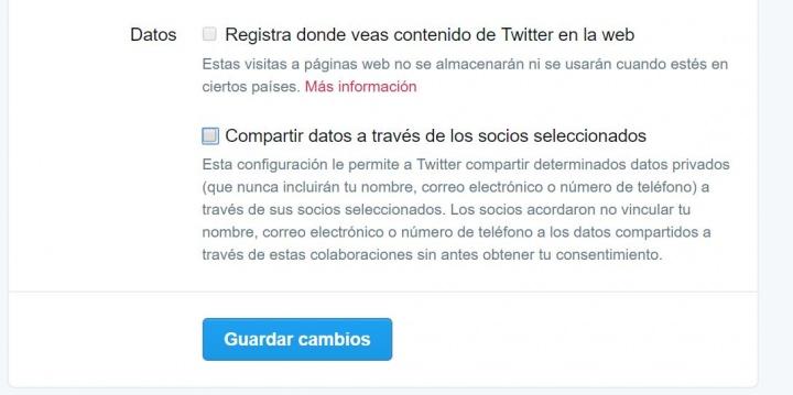 Imagen - Twitter compartirá tus datos aunque podrás evitarlo