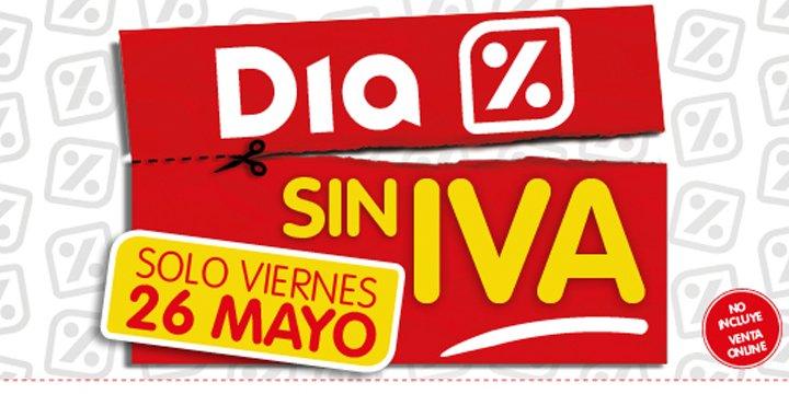 Dia celebra el Día sin IVA