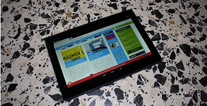 Review: Energy Tablet Pro 3, un tablet con un buen diseño e interesantes especificaciones