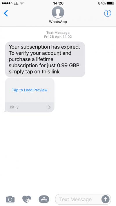 Imagen - Nueva estafa sobre WhatsApp de pago