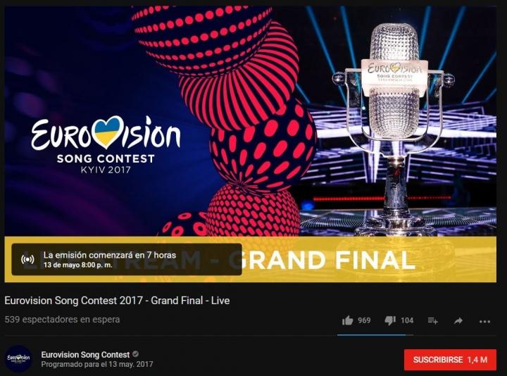 Imagen - Cómo ver la final de Eurovisión 2017 online