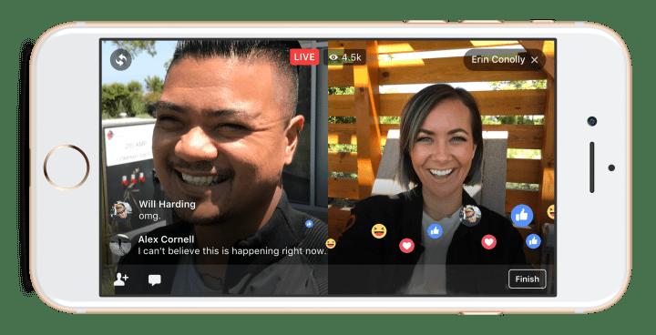 Imagen - Facebook Live ya permite hacer directos con amigos
