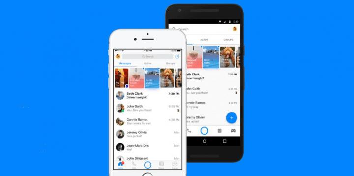 Imagen - Facebook Messenger mejora su diseño