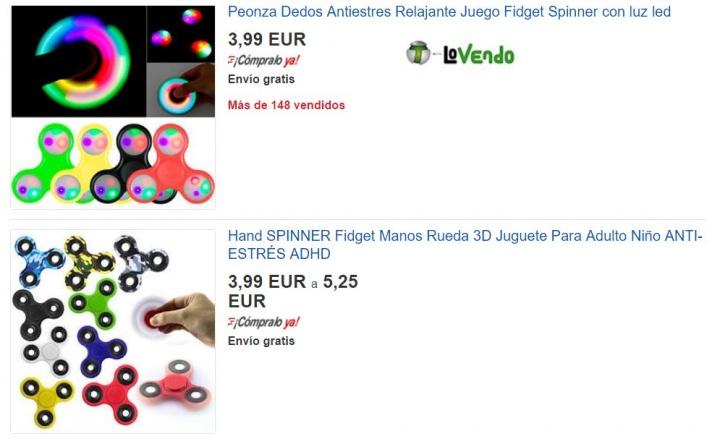 Imagen - Dónde comprar fidget spinners
