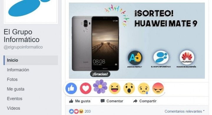 Imagen - Las reacciones a los comentarios de Facebook llegan a todos