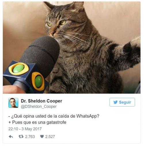 Imagen - Los mejores memes de la caída de WhatsApp