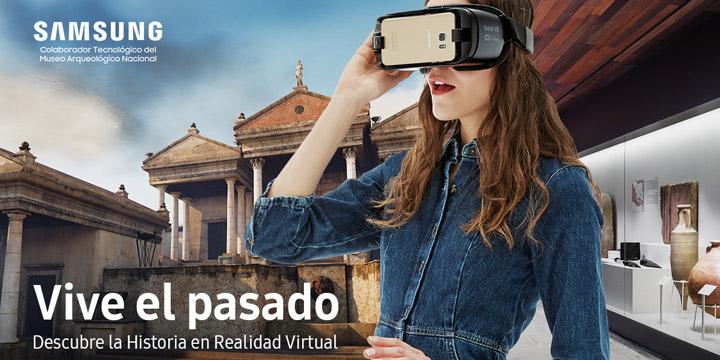 Imagen - El Museo Arqueológico Nacional incorpora gafas VR de Samsung
