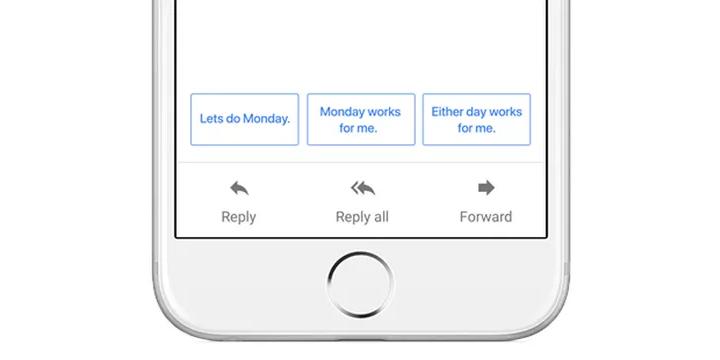 Imagen - Gmail ya cuenta con respuestas inteligentes