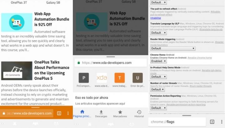 Imagen - Chrome Home: así se actualiza la interfaz del navegador