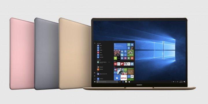 MateBook X, MateBook E y MateBook D, la gama de portátiles de Huawei