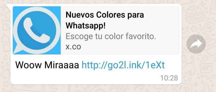 """Imagen - Cuidado con los """"nuevos colores"""" para WhatsApp"""