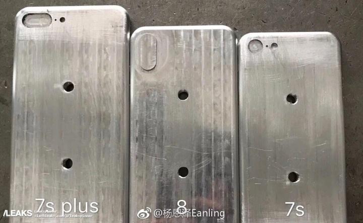 Imagen - Filtrados los moldes del iPhone 7S, 7S Plus y 8