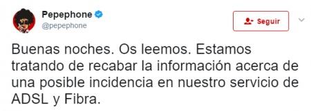 Imagen - MásMóvil, Yoigo y Pepephone sufren una caída en ADSL y fibra