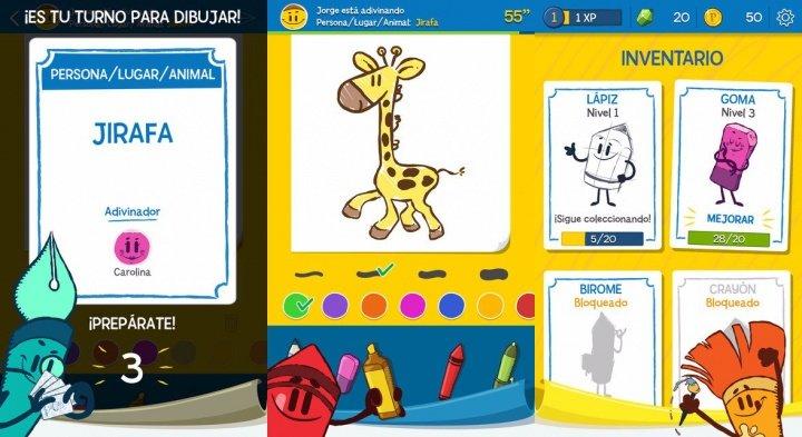 Imagen - Descarga Pictionary, el clásico juego de dibujo, para Android e iPhone