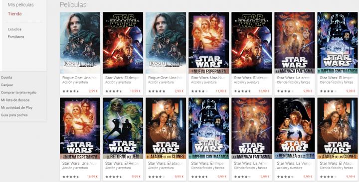 Imagen - Dónde ver o descargar Star Wars