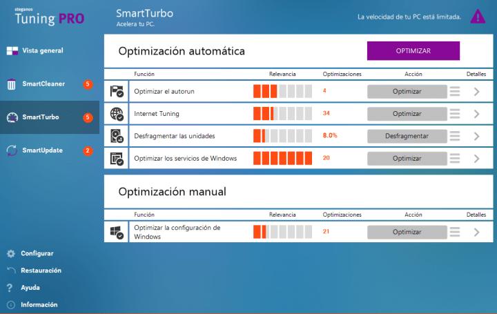 Imagen - Steganos Tuning Pro, una herramienta para optimizar y acelerar Windows