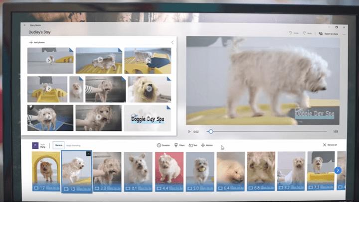 Windows Story Remix, el regreso de Movie Maker
