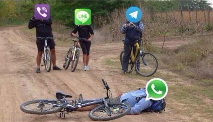 ¿A que se debe la caída de WhatsApp?