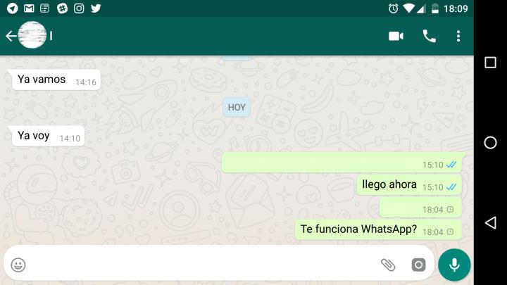 Imagen - WhatsApp no funciona nuevamente