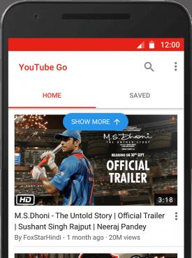 Imagen - YouTube Go, la app para ver vídeos de YouTube sin conexión a Internet