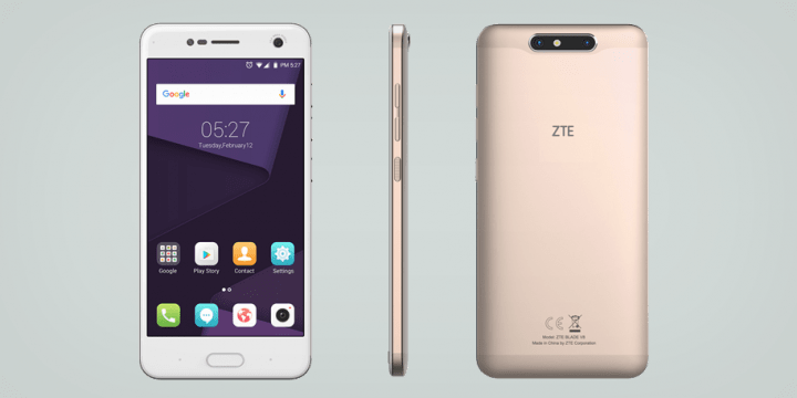 Image - New ZTE BLADE V8, with double bokeh effect camera and ultra-thin design