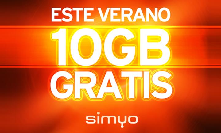 Imagen - Simyo regala 10GB a sus clientes para el verano